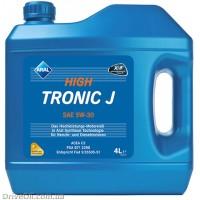 Моторное масло Aral HighTronic J 5W-30 4л