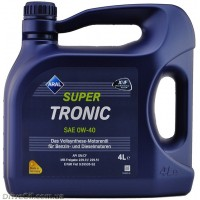 Моторное масло Aral SuperTronic 0W-40 4л