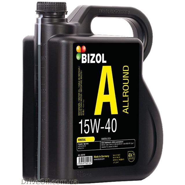 Моторное масло Bizol Allround 15W-40 4 л