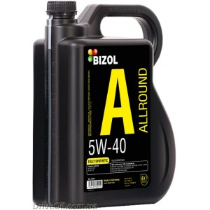 Моторное масло Bizol Allround 5W-40 4 л