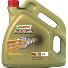 Моторное масло Castrol EDGE Titanium FST 0W-30 A3/B4 4л