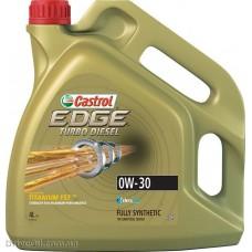 Моторное масло Castrol Edge Turbo Diesel 0W-30 4л