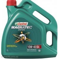 Моторное масло Castrol Magnatec Diesel 10W-40 B4 4л