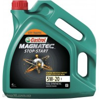 Моторное масло Castrol Magnatec STOP-START 5W-20 E 4л