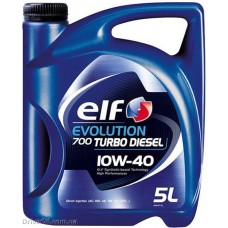 Моторное масло Elf Evolution 700 Turbo Diesel 10W-40 5л