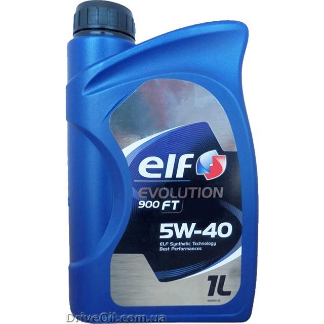 Моторное масло Elf Evolution 900 FT 5W-40 1 л