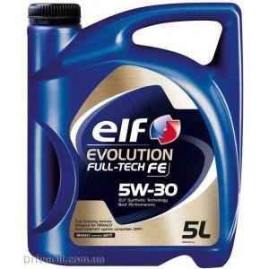 Моторное масло Elf Evolution Full-Tech FE 5W-30 5 л