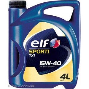 Моторное масло Elf Sporti TXI 15W-40 4 л