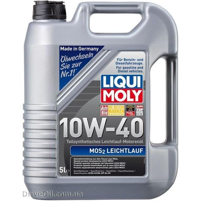 Моторное масло Liqui Moly MoS2 Leichtlauf 10W-40 5 л