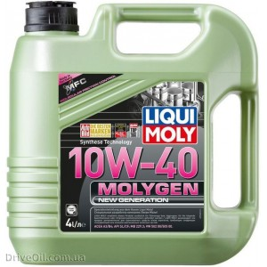 Моторное масло Liqui Moly Molygen New Generation 10W-40 4 л