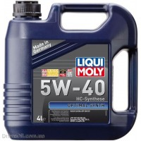 Моторное масло Liqui Moly Optimal Synth 5W-40 4л