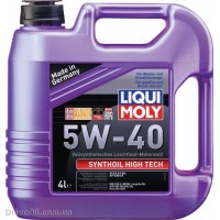 Моторное масло Liqui Moly Synthoil High Tech 5W-40 4л