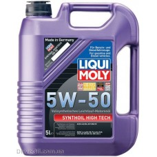Моторное масло Liqui Moly Synthoil High Tech 5W-50 5л