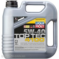Моторное масло Liqui Moly Top Tec 4100 5W-40 4л