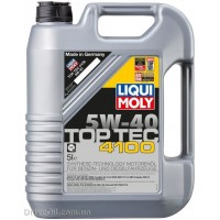Моторное масло Liqui Moly Top Tec 4100 5W-40 5л