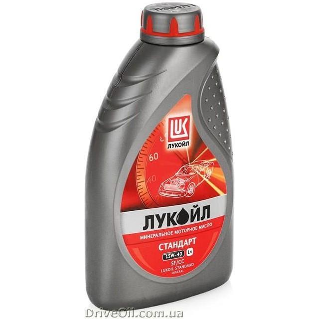 Моторное масло Лукойл Стандарт SAE 15W-40 1 л