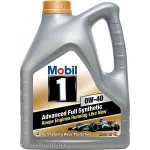 Моторное масло Mobil 1 FS 0W-40 4 л