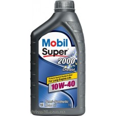Моторное масло Mobil Super 2000 X1 Diesel 10W-40 1л