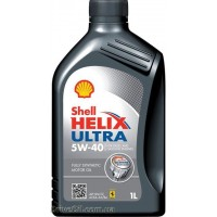 Моторное масло Shell Helix Ultra 5W-40 1л