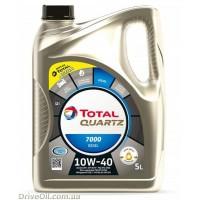 Моторное масло Total Quartz 7000 Diesel 10W-40 5л