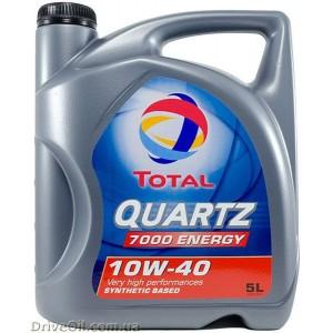 Моторное масло Total Quartz 7000 ENERGY 10W-40 5 л