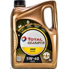 Моторное масло Total Quartz 9000 ENERGY 5W-40 4л