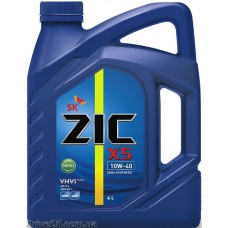 Моторное масло Zic X5 Diesel 10W-40 4л