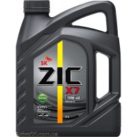 Моторное масло Zic X7 Diesel 10W-40 4л