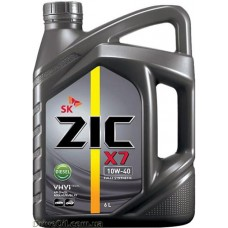 Моторное масло Zic X7 Diesel 10W-40 6л