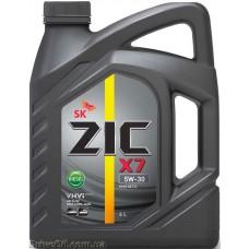 Моторное масло Zic X7 Diesel 5W-30 6л
