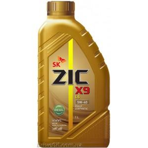 Моторное масло Zic X9 LS DIESEL 5W-40 1 л