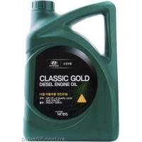 Моторное масло Mobis Classic Gold Diesel 10W-30 6л (05200-00610)