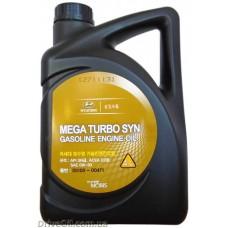 Моторное масло Mobis Mega Turbo Syn 0W-30 4л (05100-00471)