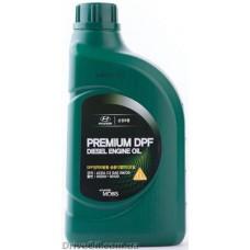 Моторное масло Mobis Premium DPF Diesel 5W-30 1л (05200-00120)