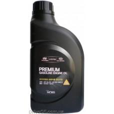Моторное масло Mobis Premium Gasoline 5W-20 1л (05100-00121)