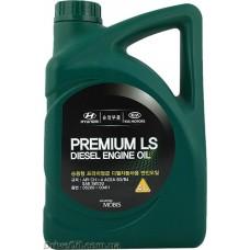Моторное масло Mobis Premium LS Diesel 5W-30 4л (05200-00411)