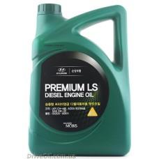 Моторное масло Mobis Premium LS Diesel 5W-30 6л (05200-00611)