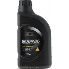 Моторное масло Mobis Super Extra SL 5W-30 1л (05100-00110)